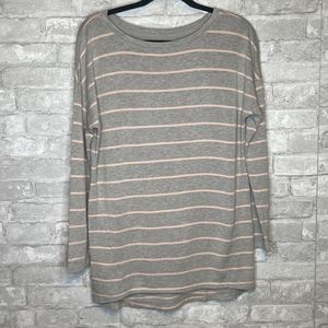 Lou & Grey Long Sleeved Striped Top Small